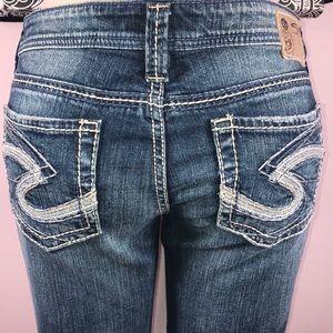 Silver denim jeans 👖 Size 29 💝